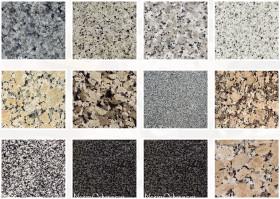 Encimeras de granito nacional colores best montaje for Granito nacional colores